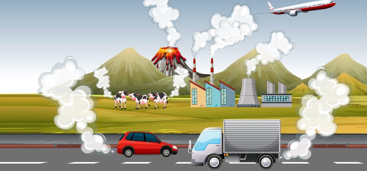 air pollution cause