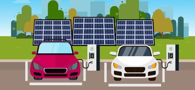 सौर ऊर्जा पर चलने वाले ई-चार्जिंग स्टेशन और इनके फ़ायदे