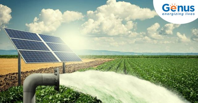 solar panels help save water